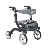 Nitro Euro Style Walker Rollator, Hemi Height By Drive
