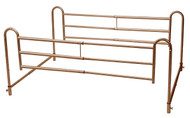 Home Bed Style Adjustable Length Bed Rails, 1 Pair By Drive