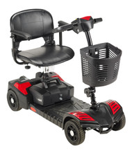 Scout Compact Travel 4 Wheel Scooter by Drive