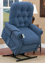 1553 PETITE Three-Way Reclining Lift Chair by Med-Lift