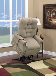 1553W PETITE-WIDE Three-Way Reclining Lift Chair by Med-Lift