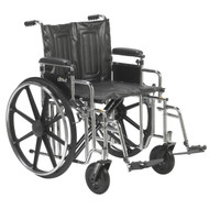 Sentra Extra Heavy Duty Wheelchair By Drive