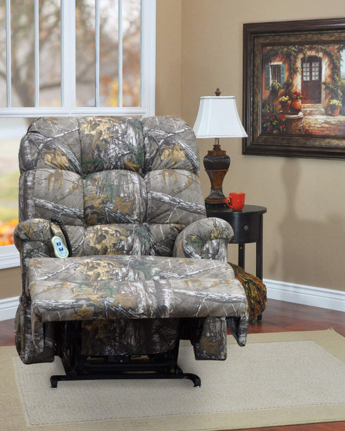 Camo Lift Chair: Camouflage WALL-A-WAY Three-Position
