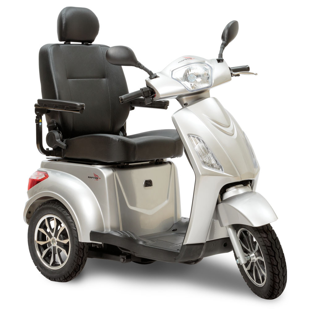 Raptor by Pride - Full-Size 3 Wheel Outdoor Mobility Scooter