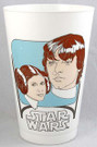 1977 Star Wars Luke/Leia Coca-Cola Plastic Cup #7 of 8