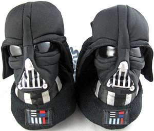 Star Wars Barnet Darth Vader Light Up LightSaber Slippers Full Slipper 7-2 Boys