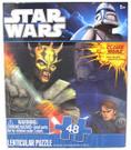 Star Wars Clone Wars Anakin, Obi Wan 48pc Lenticular 3D Puzzle