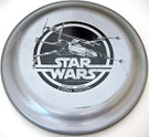 1978 Star Wars X-Wing Fighter Pine-Sol Frisbee, Unused, cracked