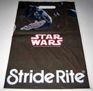 1982 Star Wars Stride Rite Plastic Shoe bag, unused