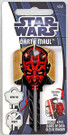 Star Wars Darth Maul House Key Blank for Kwikset.