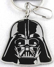 Star Wars Darth Vader Head Metal Enamel Key Chain