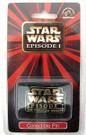 Star Wars Episode 1 Phantom Menace Logo Pin Sealed