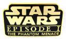Star Wars Episode 1 Phantom Menace Movie Logo Metal Pin