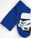 Star Wars Stormtrooper Top of Foot Men's Crew Socks Shoe Size 6-12