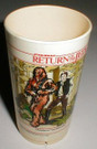 1983 Star Wars ROTJ 6 oz. Tumbler, age yellowed