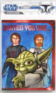 Star Wars Clone Wars Party Invitations w/ Anakin, Yoda, Obi Wan 8 pack