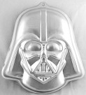 Star Wars Darth Vader Metal Cake Pan w/ Instructions Wilton