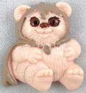 1983 Star Wars Ewoks Cartoon Series Princess Kneesaa Magnet 1.25""