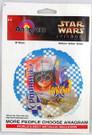 "1999 Star Wars Anagram 18"" Mylar Balloon w/Anakin Podrace sealed"