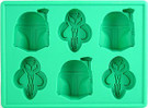 Star Wars Boba Fett Ice Cube Tray / Candy Mold
