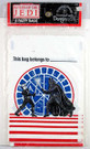 1983 Star Wars ROTJ Party Favor Bags Luke & Vader 8 pack
