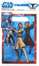 Star Wars Clone Wars Party Favor Bags w/ Obi Wan, Anakin 8 pack
