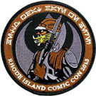 Star Wars 2013 Rhode Island Comic Con Lando Embroidered Patch
