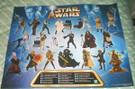 Star Wars Episode 2 AOTC Hasbro Action Figure Poster 18x23""