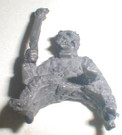 1977 Star Wars Tusken Raider Sitting Pose #1 bootleg Pewter figure
