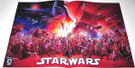 "Star Wars 30th Anniversary Dark Horse Poster 11x17"" (factory folded)"