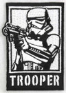 "Star Wars Stormtrooper ""Trooper"" Embroidered Patch"