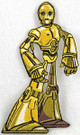 Star Wars C-3PO (C3PO) Cartoon Art Embroidered Patch
