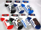 Star Wars Lego 7 Days of the Week Socks Size 5-6.5 Vader, Fett, R2-D2.