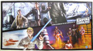 2010 Star Wars 30th ESB Hasbro Action Figure Poster 16x30""