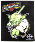 Star Wars Celebration 5 C5 Yoda Scion Poster 11.5 x 14""