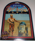 Star Wars C-3PO/R2-D2 Full color static cling, Sealed