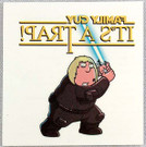 Star Wars Family Guy It's A Trap! Promo Tattoo