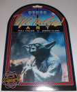 Star Wars Yoda Full color static cling, Sealed