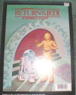 1983 Star Wars ROTJ Droids Jabbas Palace Scribble Notepad, unused