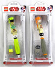 Star Wars Lego Yoda & Tusken Raider Connect & Build Pens