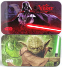 Star Wars Darth Vader & Yoda Carry All Tin / Pencil Case Set
