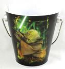 Star Wars Yoda Small Metal Tin Pail w/Handle Unused