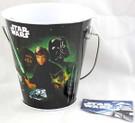 Star Wars ROTJ Small Metal Tin Pail w/Handle Unused