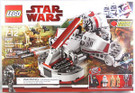 Star Wars Lego Republic Swamp Speeder w/ 5 Mini Figures #8091