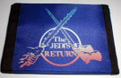 1983 Star Wars The Jedis Return Blue velco wallet