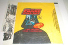 1980 Star Wars Topps ESB Series 3 Empty Wax Wrapper w/candy ad