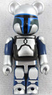 Star Wars Medicom Jango Fett Bearbrick Mini Figure