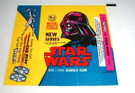 1978 Star Wars Topps Series 2 Wax Wrapper Darth Vader Unused