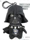 "Star Wars Mini 4"" Talking Plush Darth Vader Clip-On"