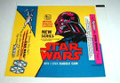 1978 Star Wars Topps Series 2 Wax Wrapper Darth Vader Unused, tear